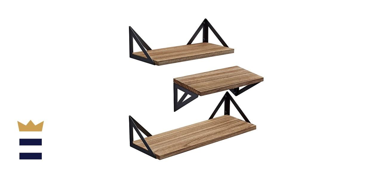 BAYKA Floating Shelves Wall Shelf Mounted