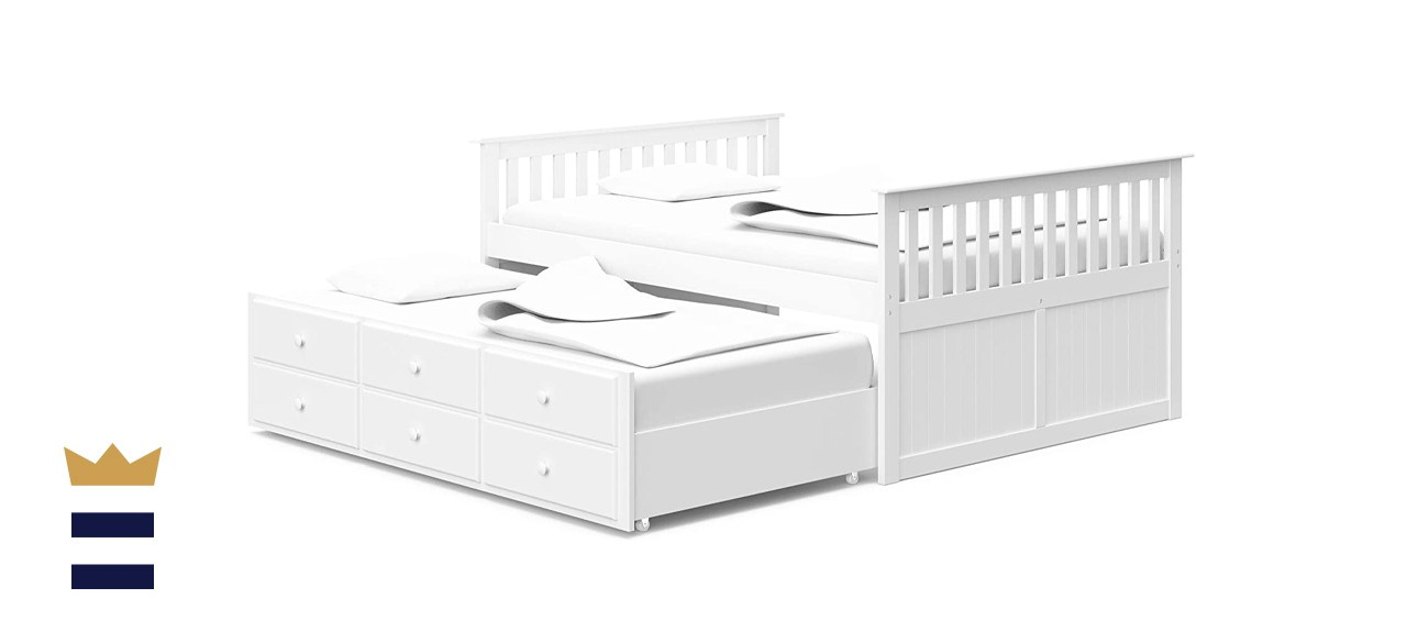 Storkcraft Marco Island Full Captain's Bed with Trundle