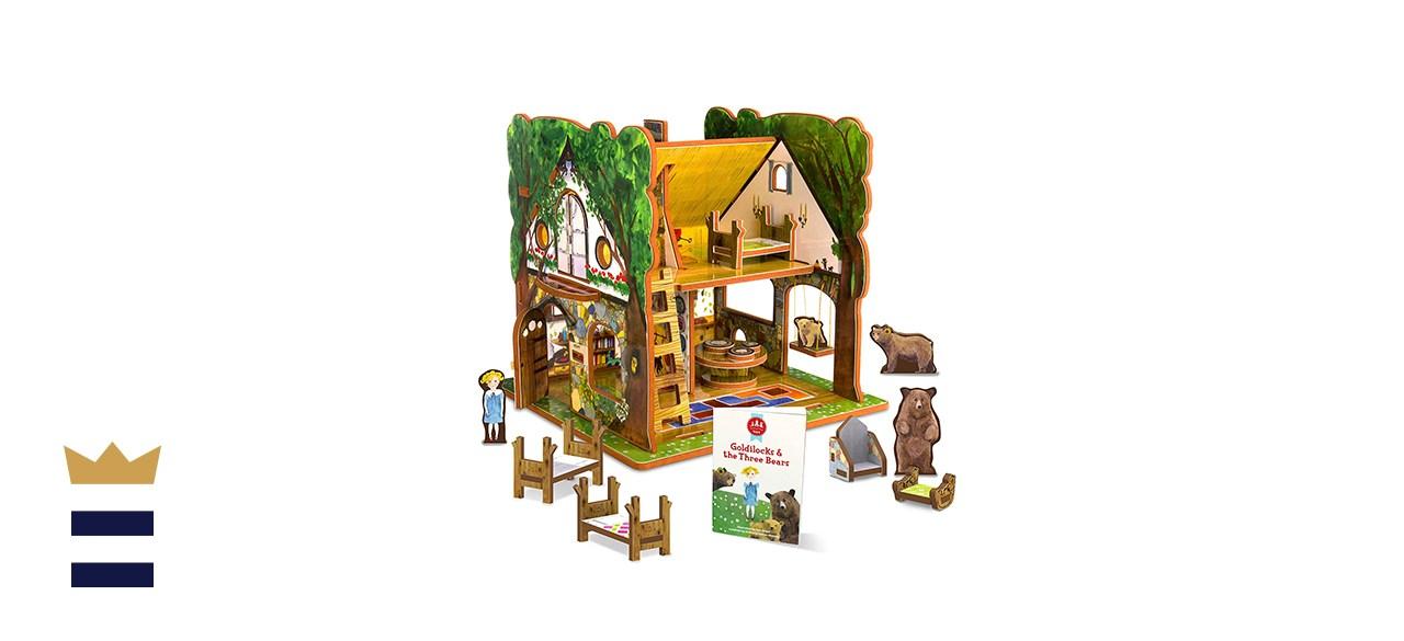 Storytime Toys' Goldilocks and the Three Bears Fairytale House Set