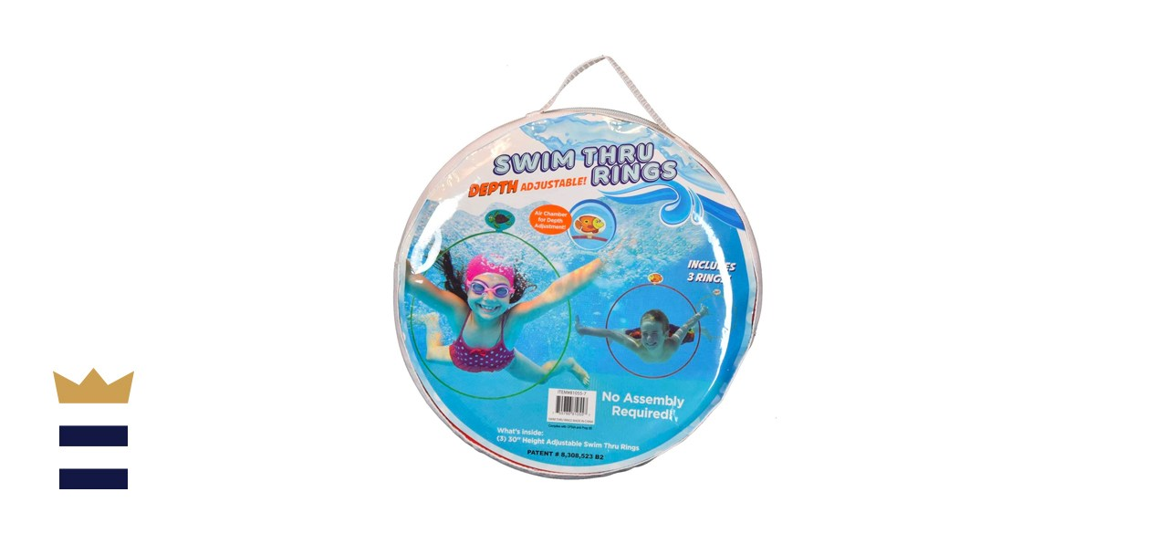 Stream Machine Swim Thru Rings Pool and Beach Accessories