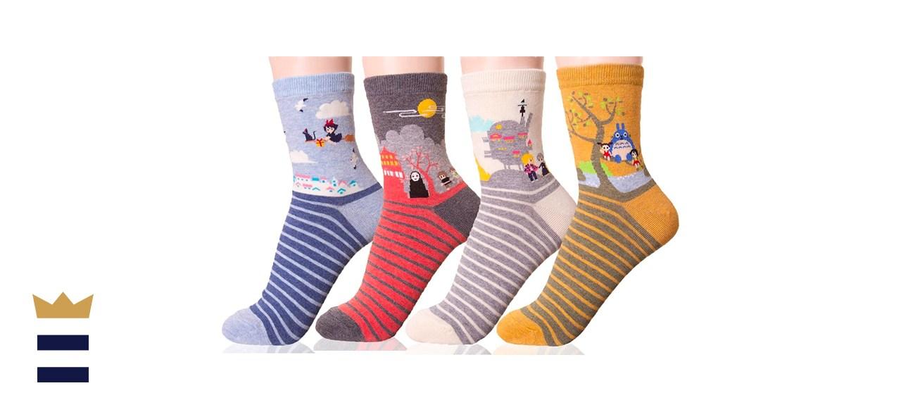 Studio Ghibli Crew Socks