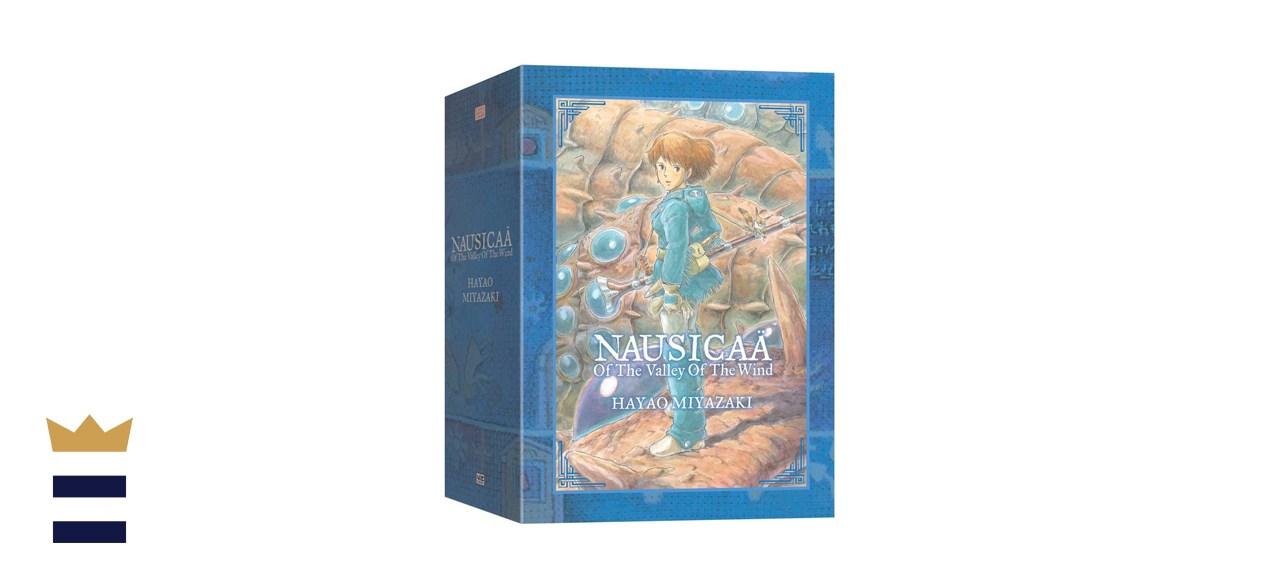 Studio Ghibli Nausicaä Of The Valley Of The Wind 2 Book Box Set By Hayao Miyazaki