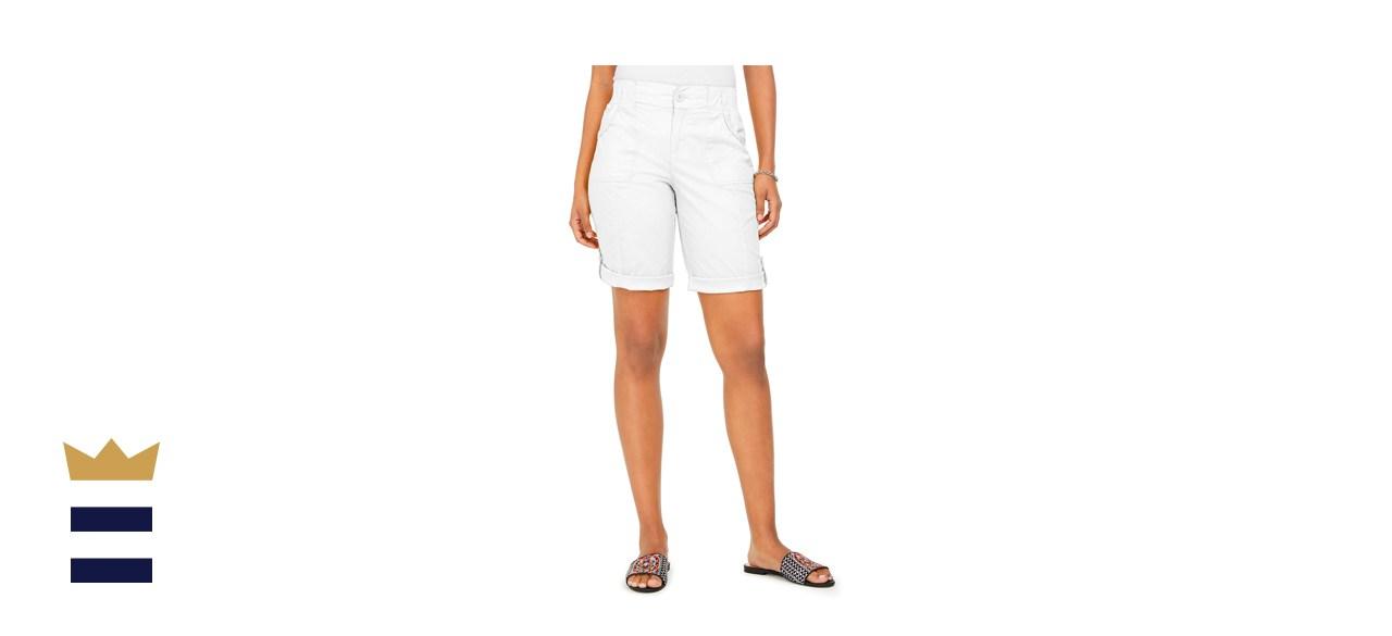 Style & Co Roll-Tab Bermuda Shorts