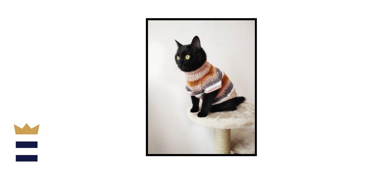 StylishCatDesigns Norwegian Sweater for Cat