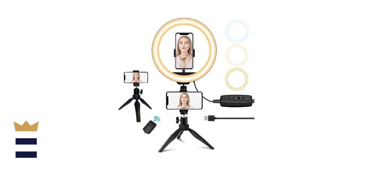 sumcoo Dimmable Selfie Ring Light
