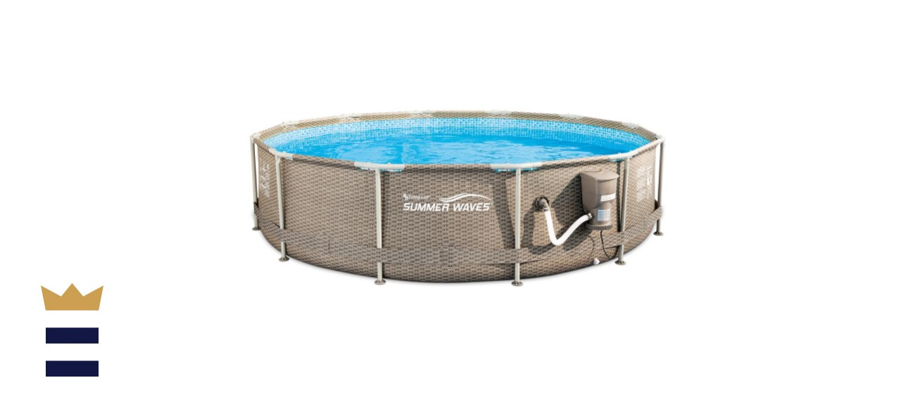 Summer Waves Metal Frame Pool