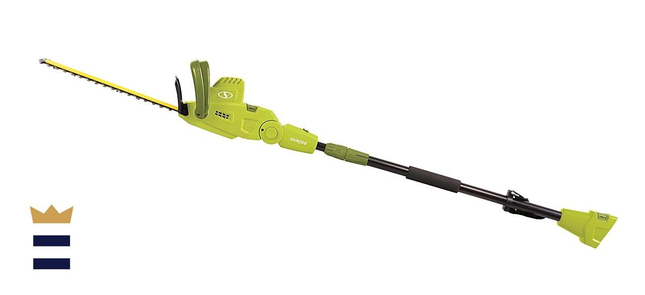 Sun Joe Convertible Electric Pole/Hedge Trimmer