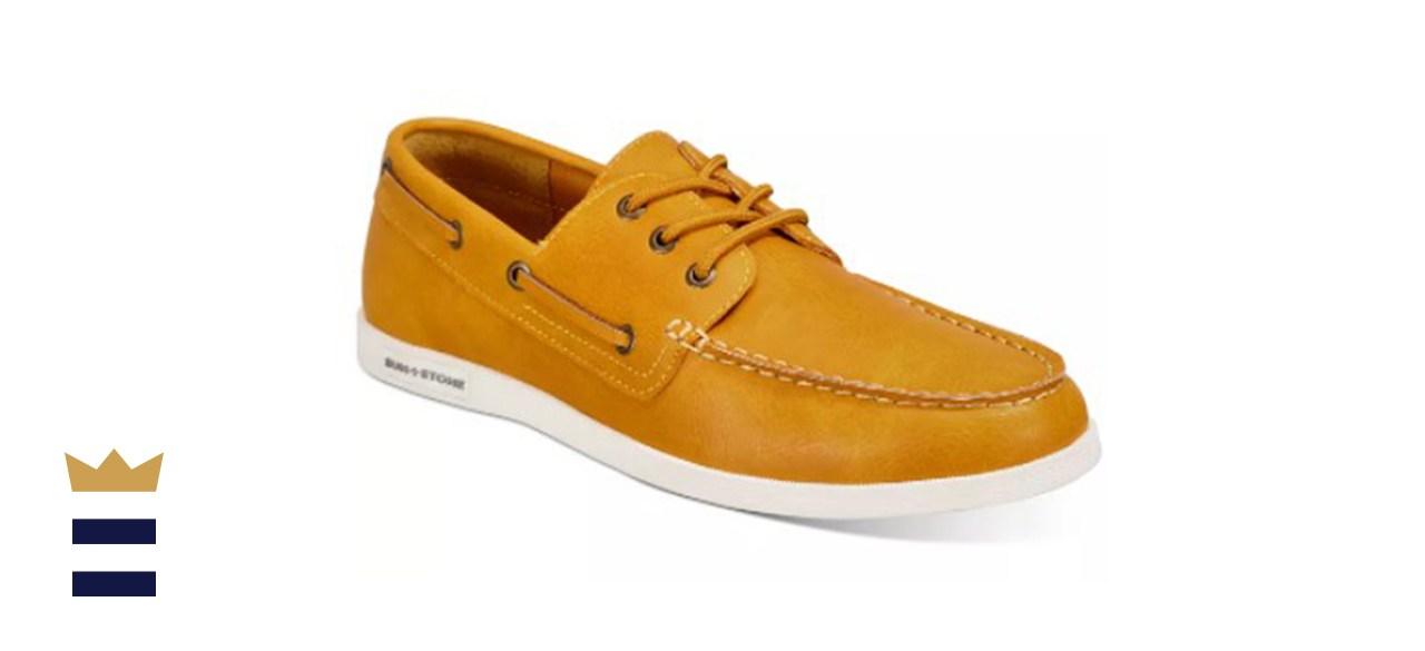 Sun + Stone Men's Brunner Boat Shoes