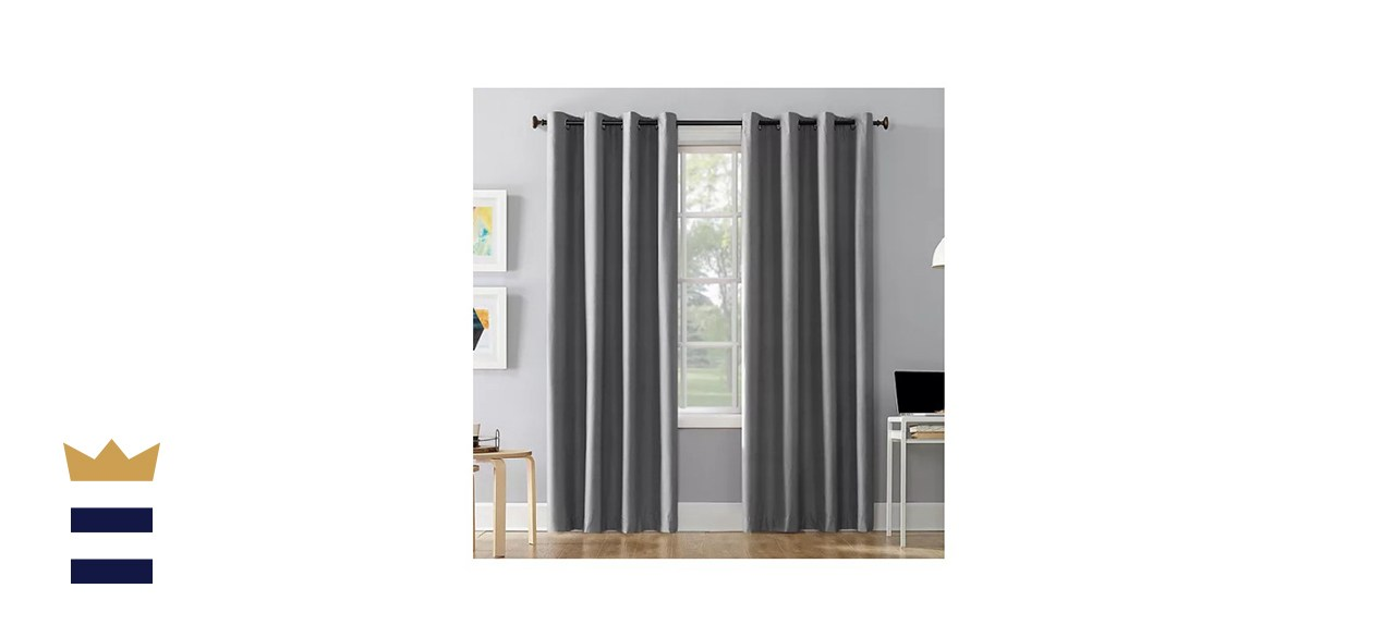 Sun Zero Cameron Thermal Insulated Blackout Curtain Panel