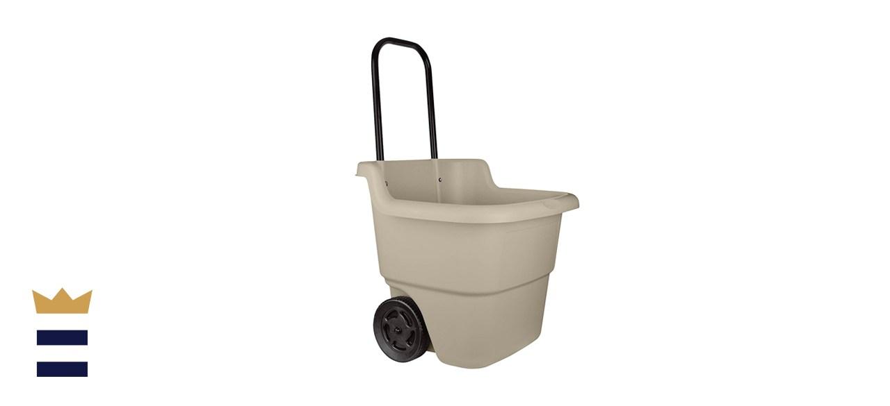 Suncast 15.5-Gallon Multipurpose Cart with Wheels