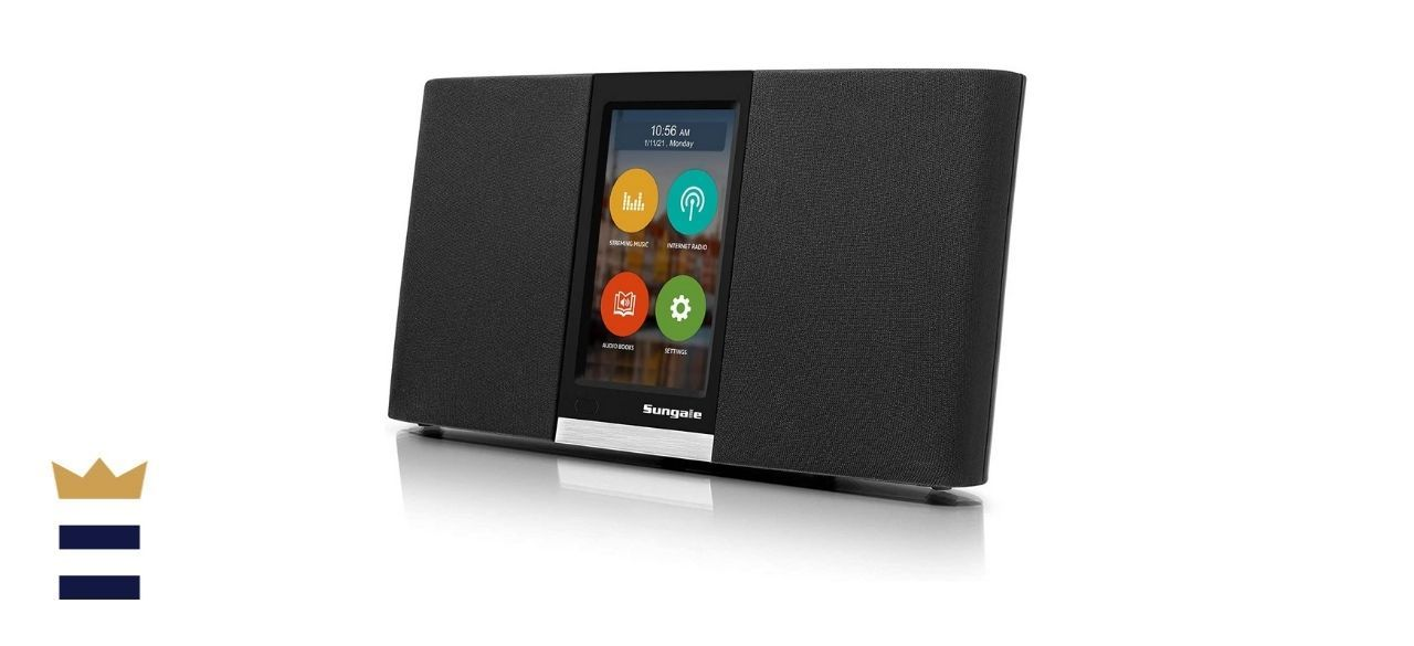 Sungale 2nd-Gen Wi-Fi Internet Radio with Touchscreen