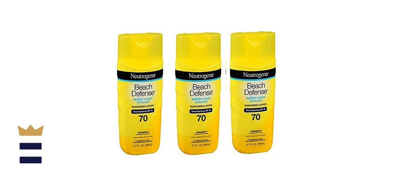 Neutrogena Beach Defense Sunscreen Body Lotion