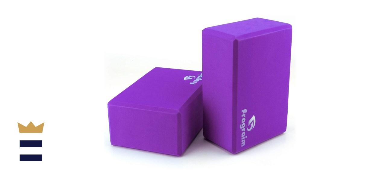 Fragraim yoga blocks