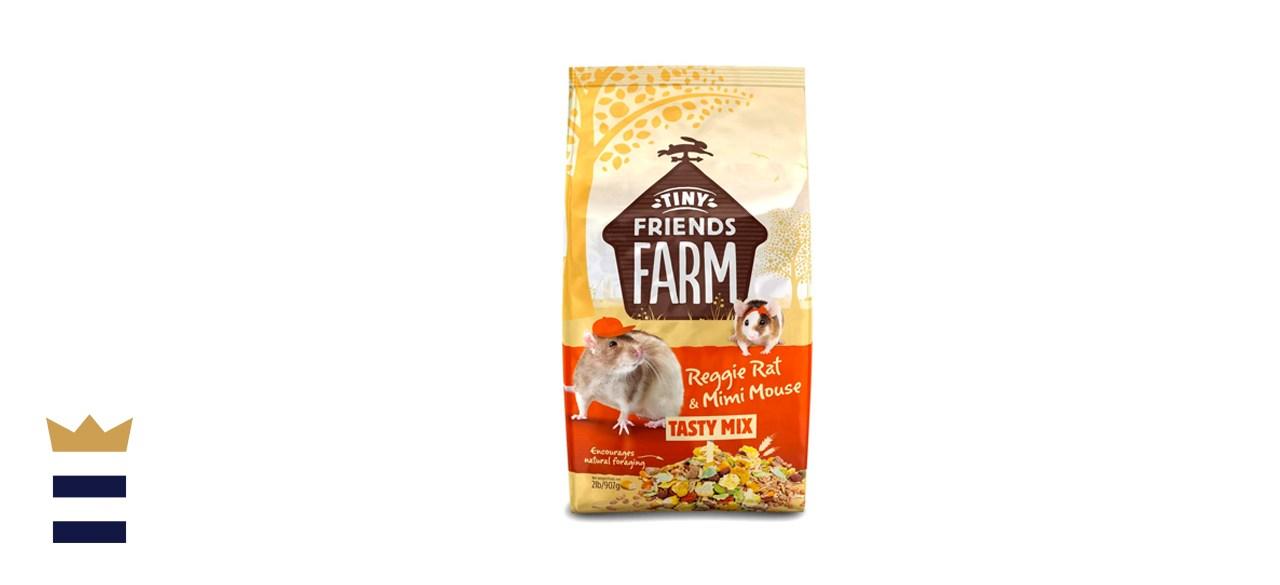 Supreme Petfoods Tiny Friends Farm Reggie Rat and Mimi Mouse Tasty Mix