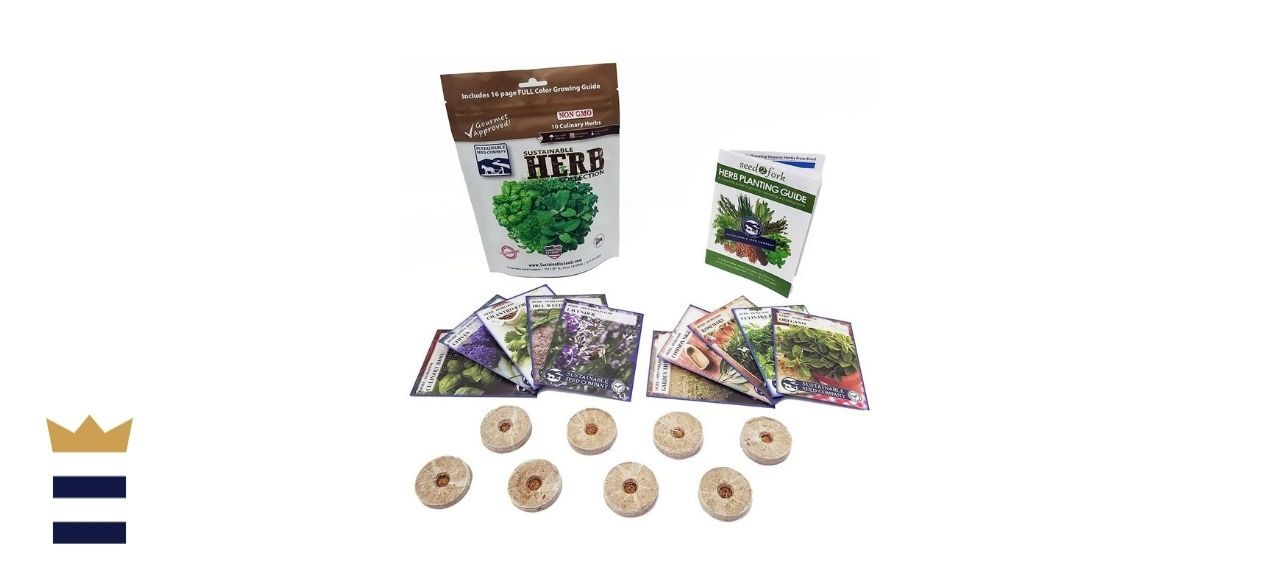 Sustainable Seed Company's Culinary Herb Seeds Collection