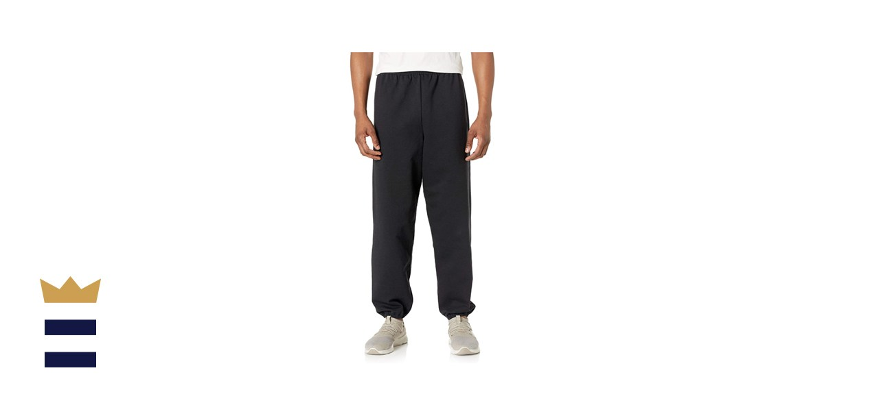 Hanes Men's EcoSmart Fleece Non-Pocket Sweatpant
