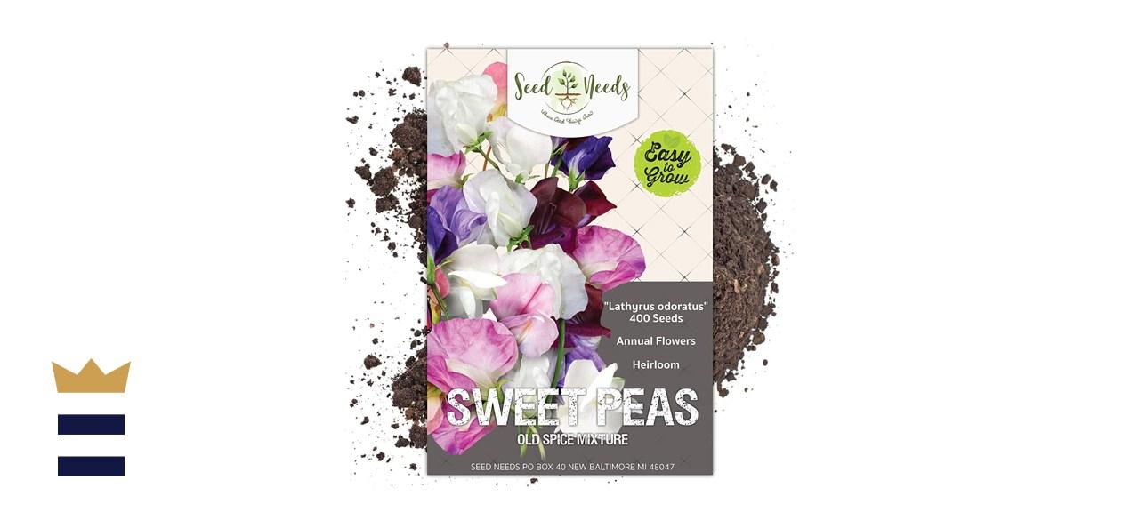 Seed Needs Sweet Peas