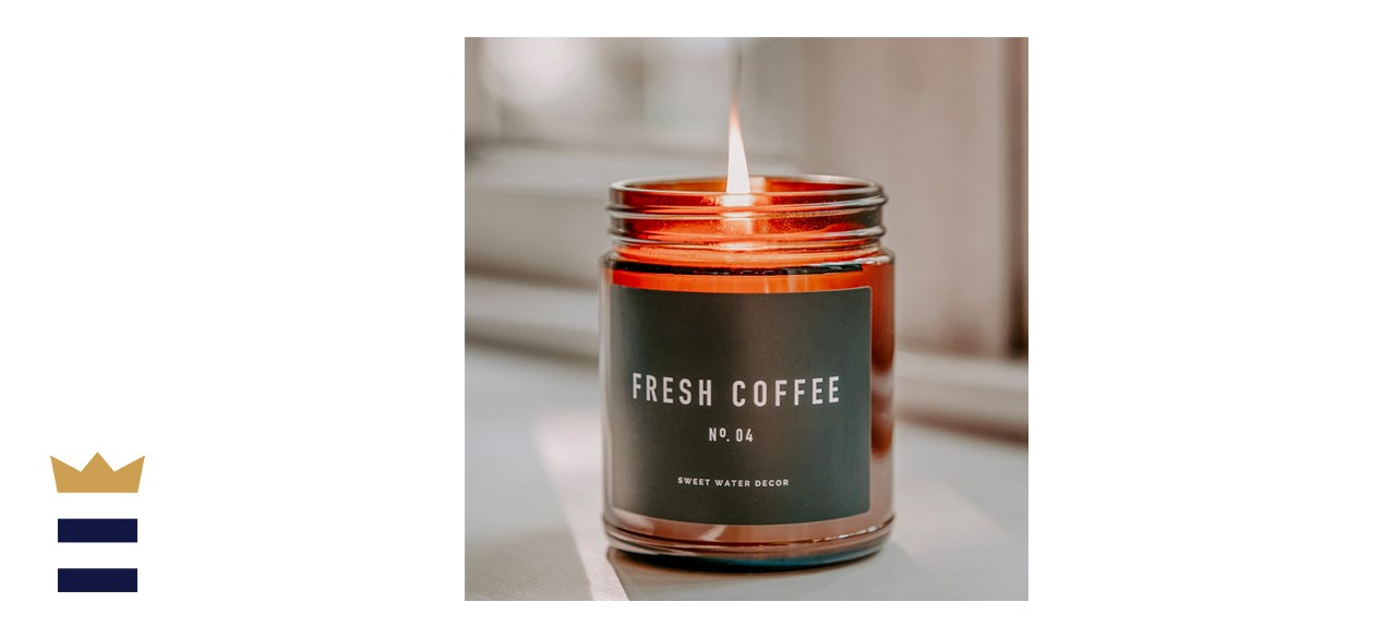 Sweetwaterdecor Fresh Coffee Soy Wax Candle