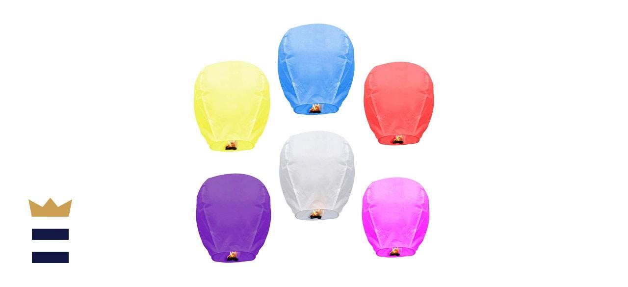 Swenafer Multicolor Chinese Sky Lanterns
