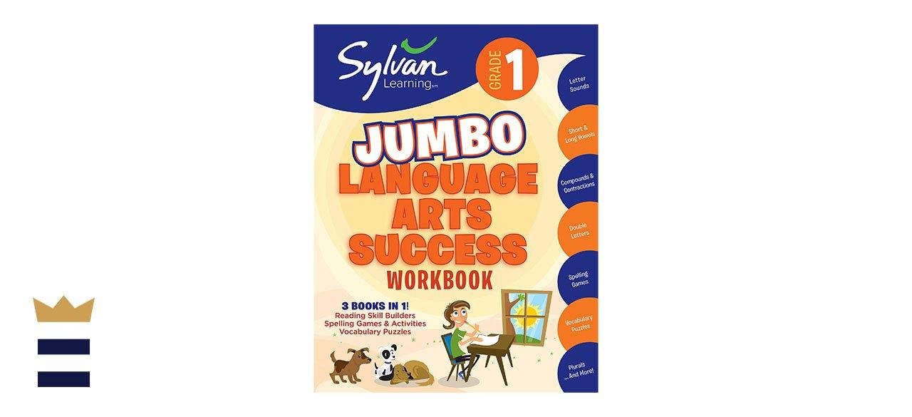 Sylvan Learning's First Grade Jumbo Language Arts Success Workbook