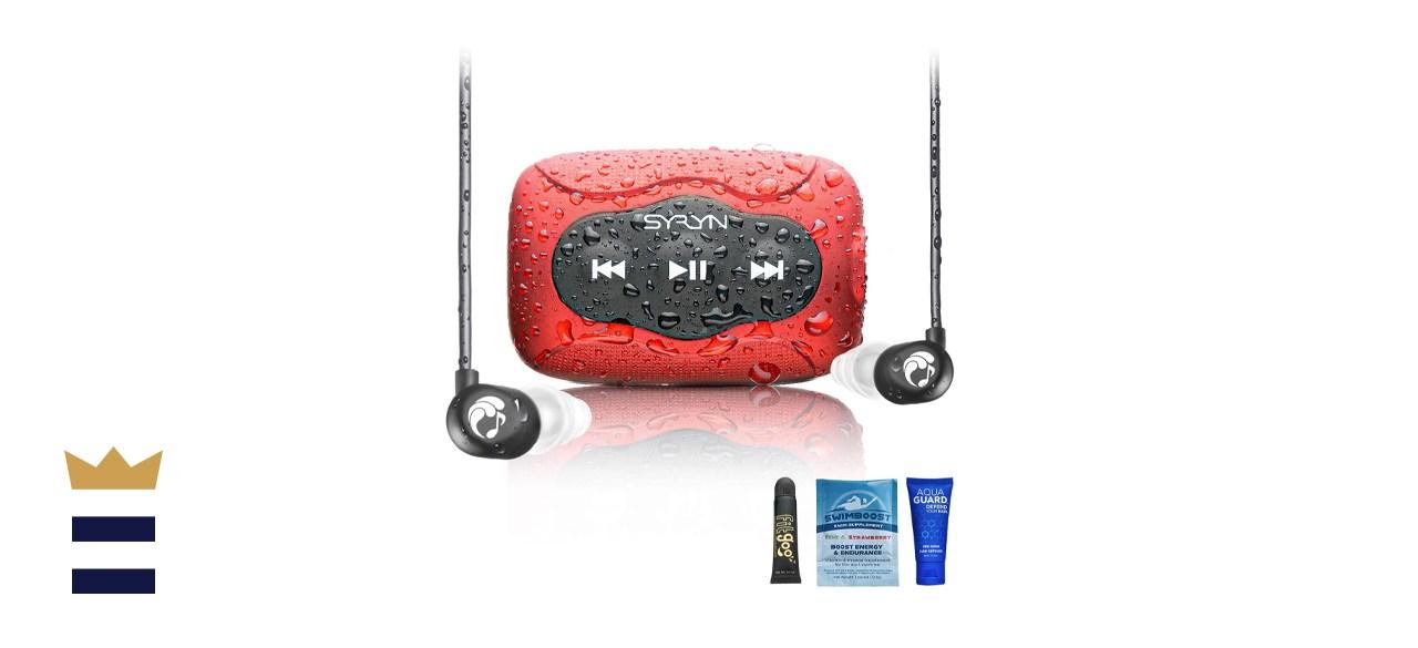 Syryn Waterproof MP3 Player and Swimbuds
