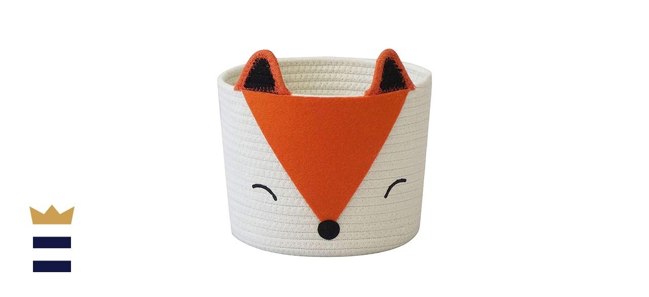 T&T Housewares Orange Fox Basket
