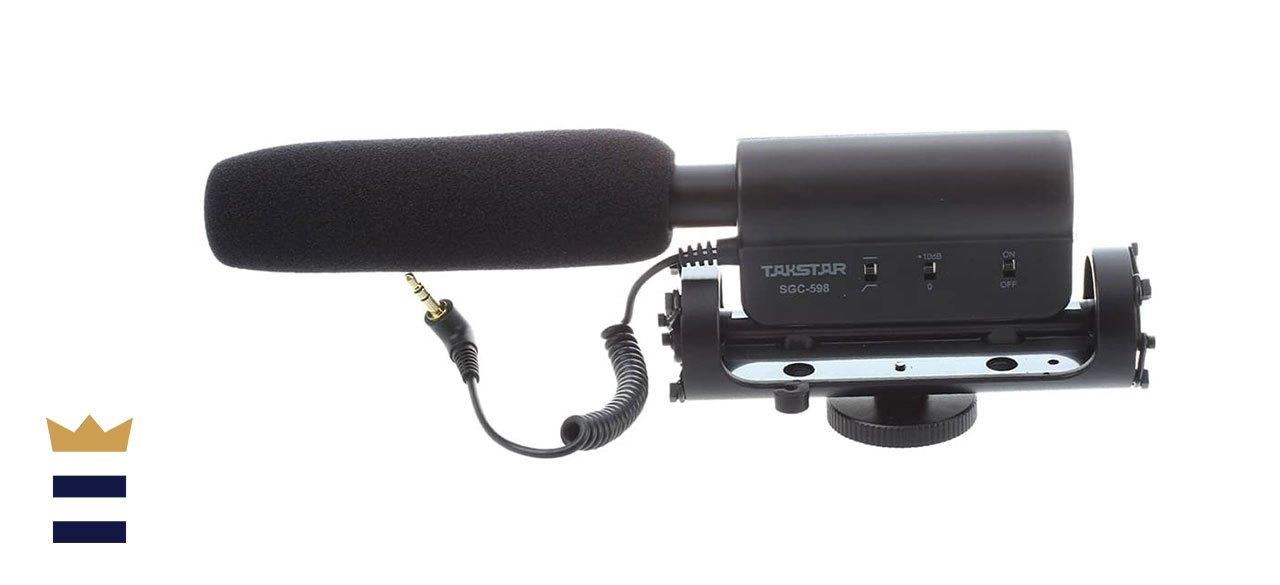 TAKSTAR's SGC-598 Interview Microphone