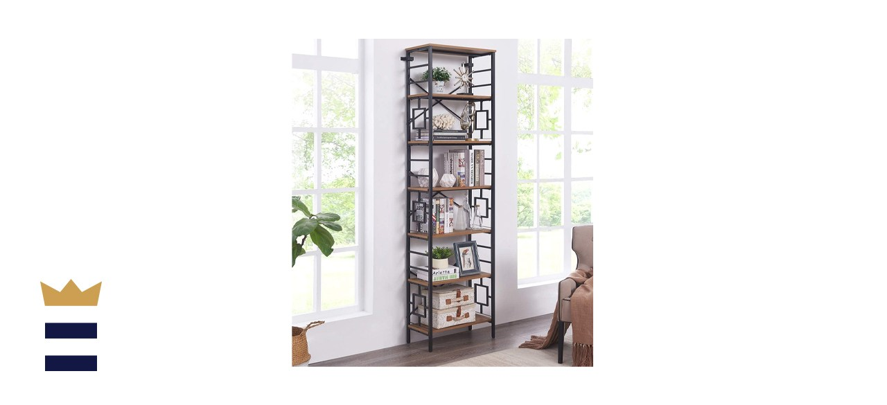 Homissue Industrial Open Bookcase