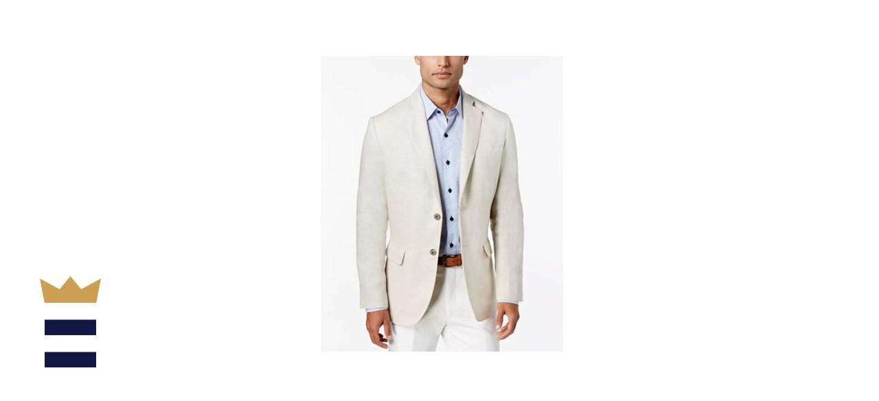 Tasso Elba Men's 2-Button Blazer