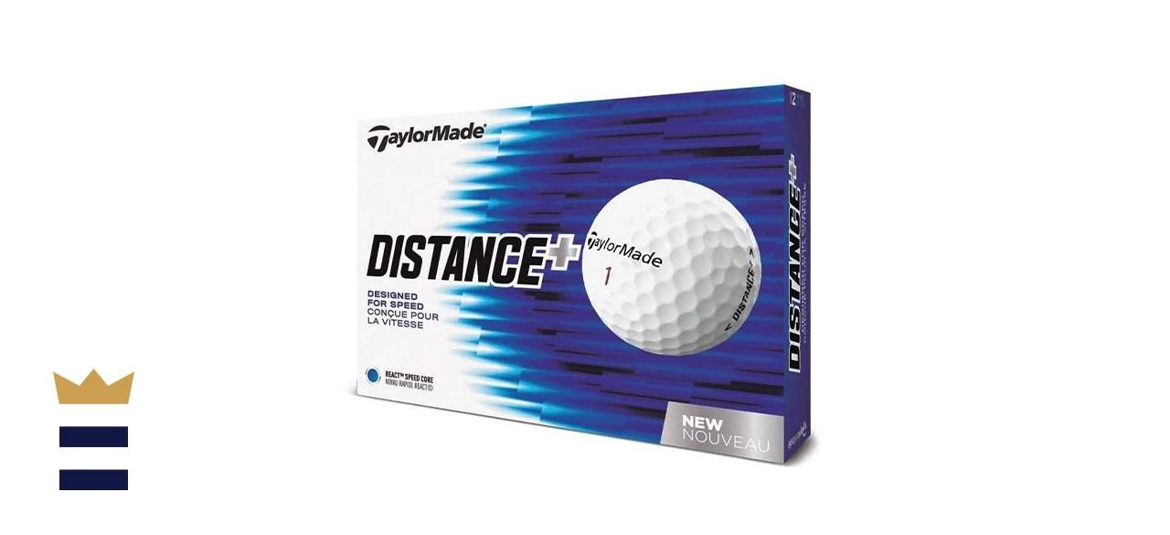 TaylorMade Distance Plus Golf Balls (1 dozen)
