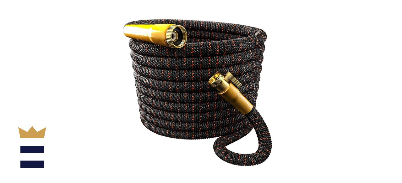 TBI Pro 100-Foot Expandable Garden Hose with Flexible Fabric