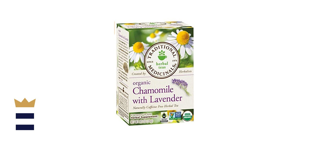Traditional Medicinals Teas Organic Chamomile with LavenderTea Bags
