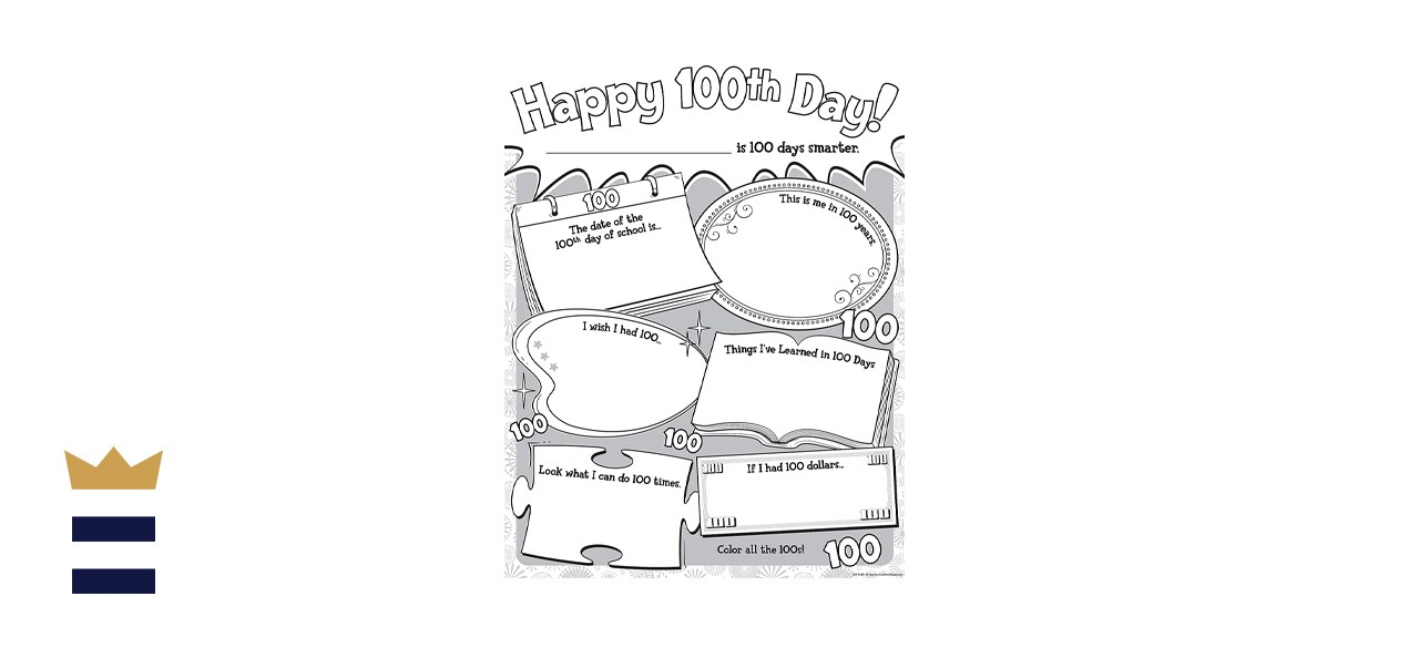 Teacher Created Resources Happy 100th Day Poster Pack