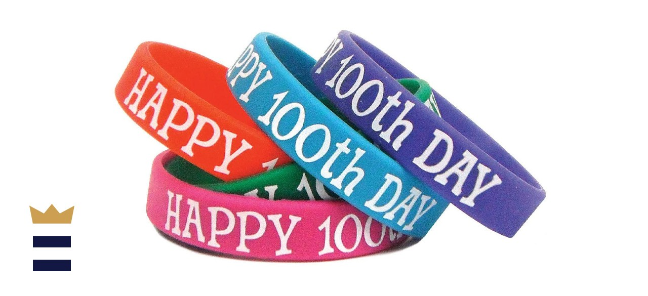 Teacher Created Resources Happy 100th Day Wristbands