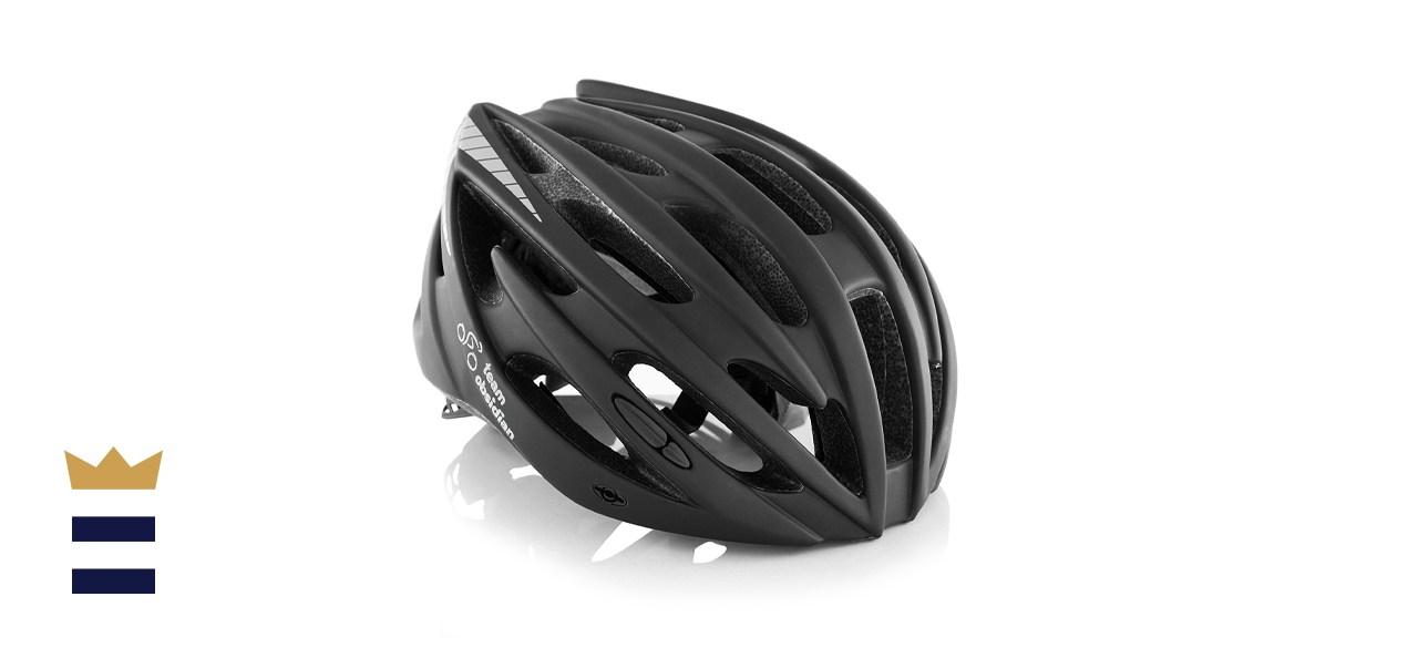 TeamObsidian Airflow Bike Helmet with Detachable Visor