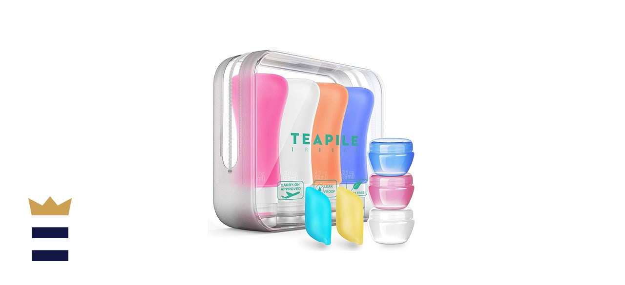 Teapile 4-Pack Travel Bottles