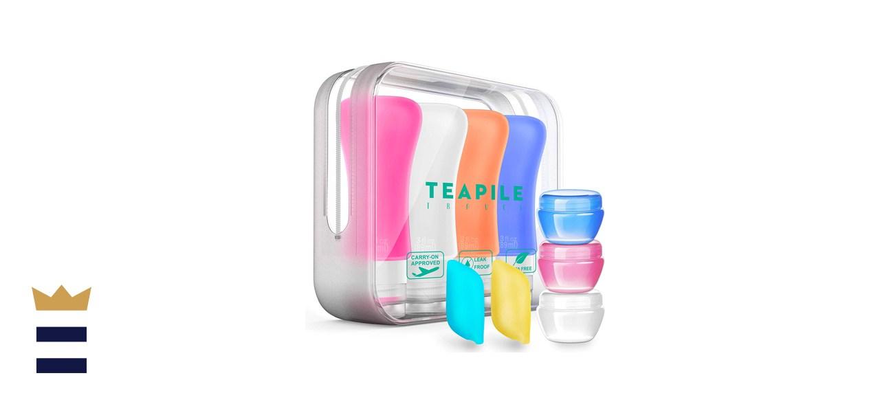 Teapile TSA-Approved Travel Bottles