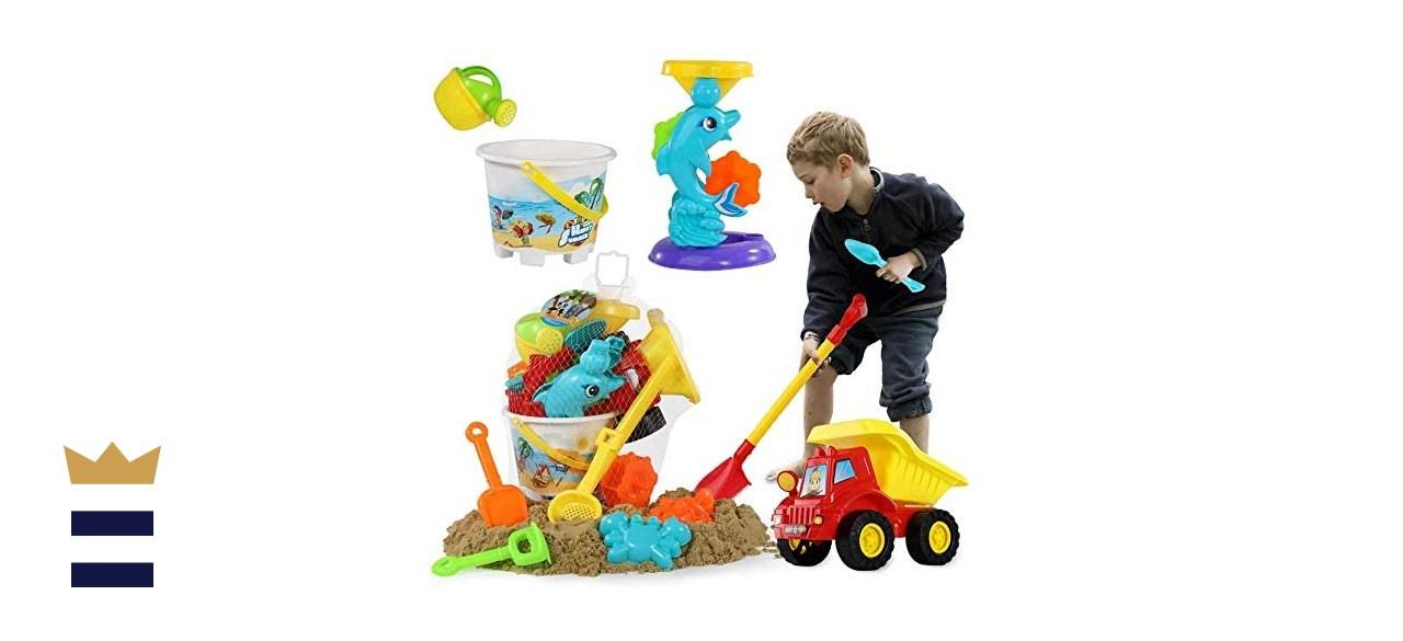 TEMI Beach Sand Toys Set