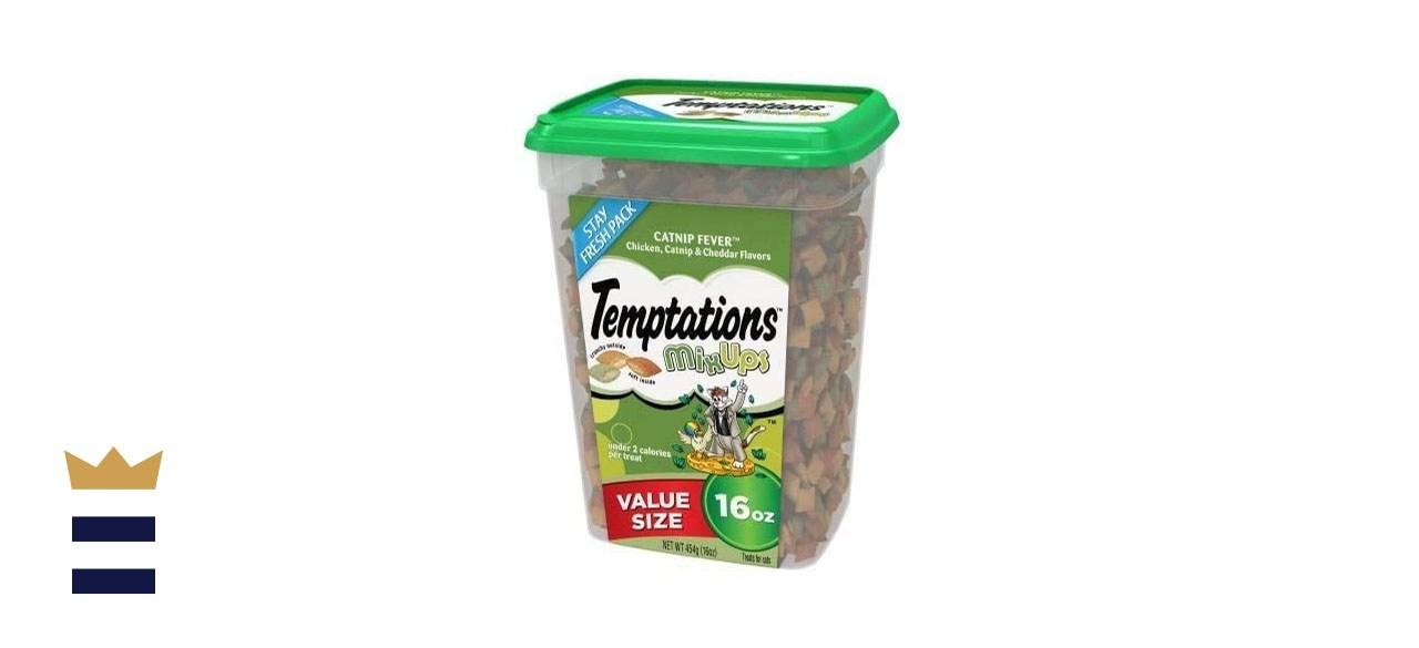Temptations Mixups Catnip Fever Flavor Catnip Treats