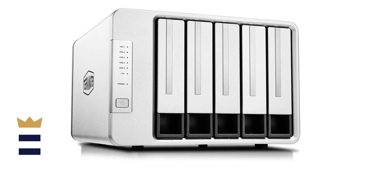 TERRAMASTER F5-221 NAS Unit for Small Business and Personal Cloud Storage