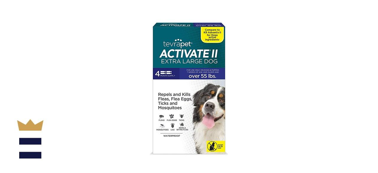Tevra Pet Activate II Flea & Tick Prevention