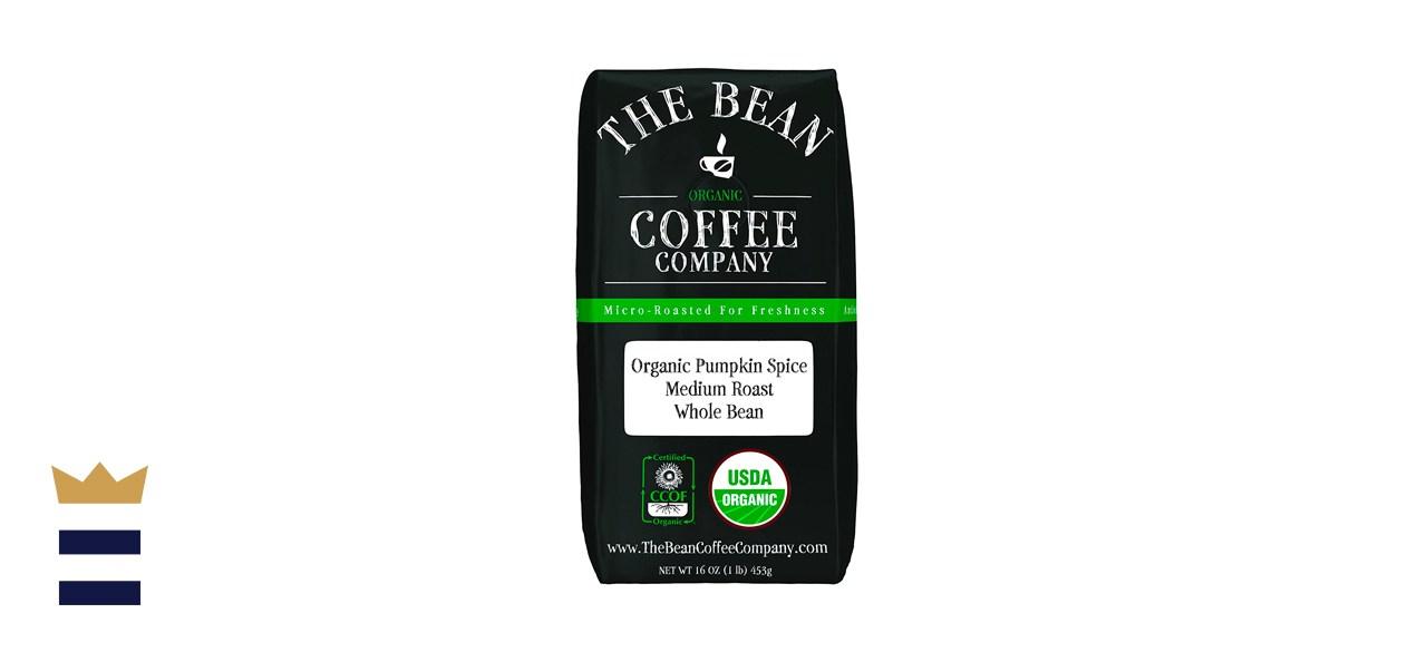 The Bean Coffee Company Organic Pumpkin Spice Whole Bean Coffee