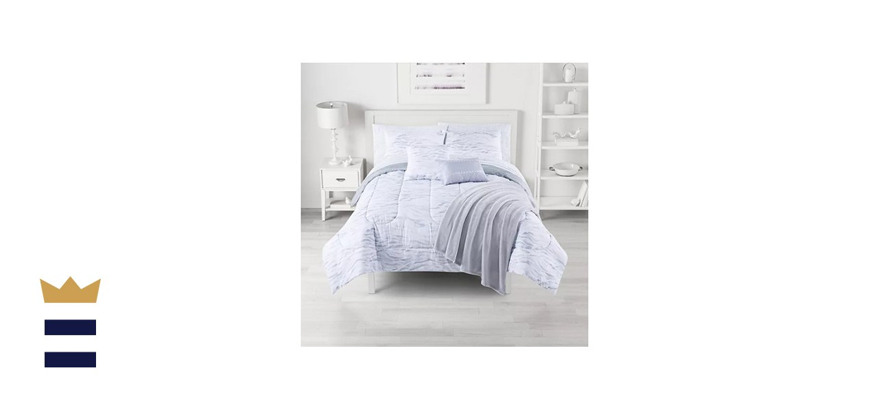 The Big One Comforter Set with Throw