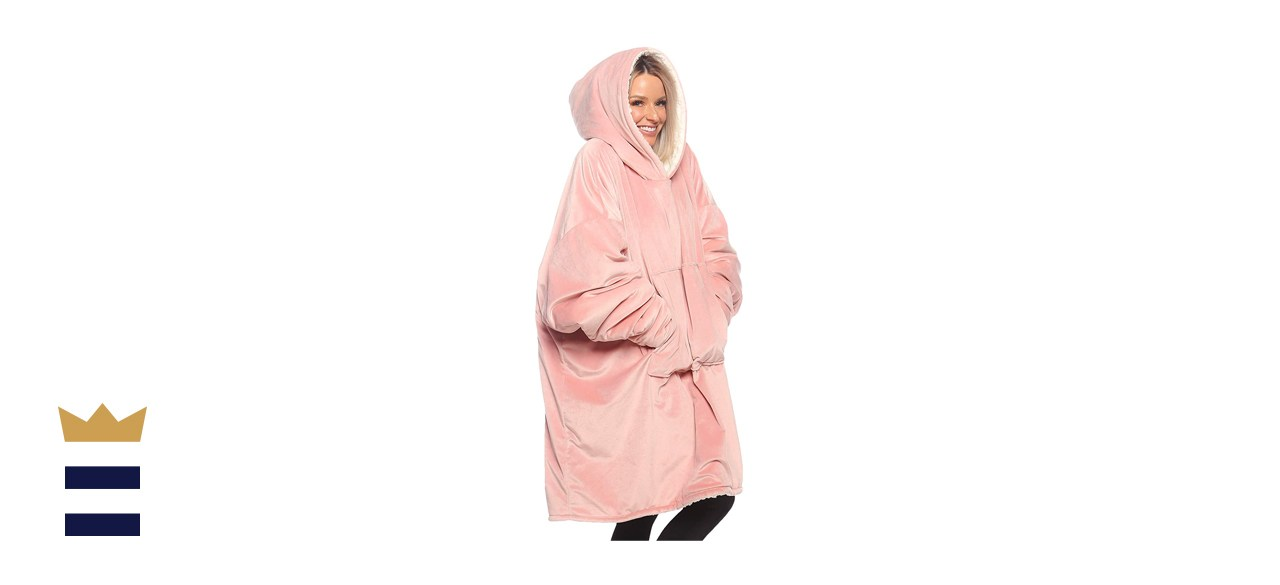 THE COMFY Original Oversized Microfiber Wearable Blanket