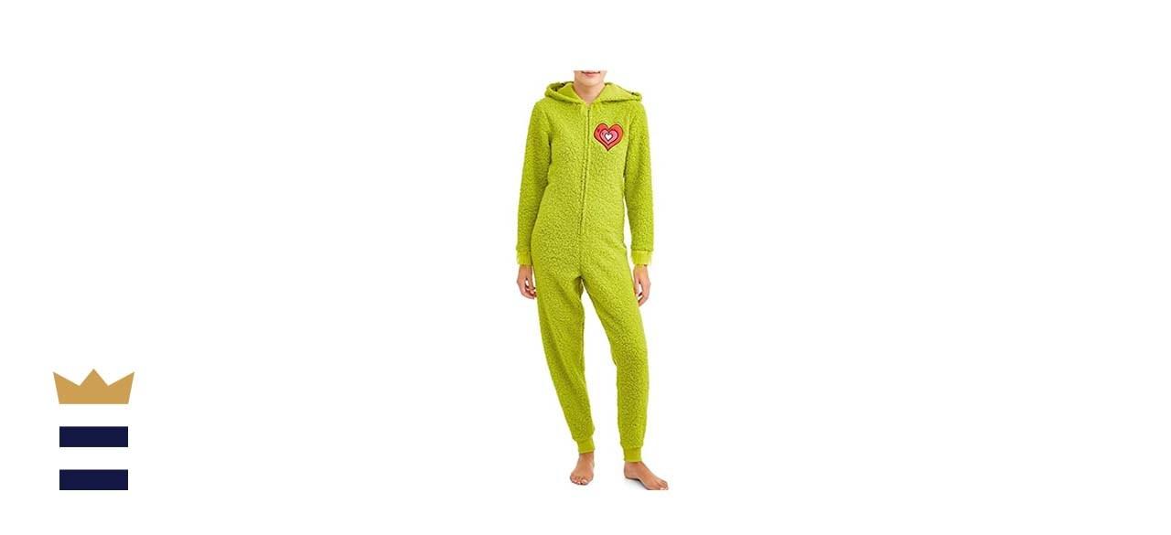 The Grinch plush women's onesie
