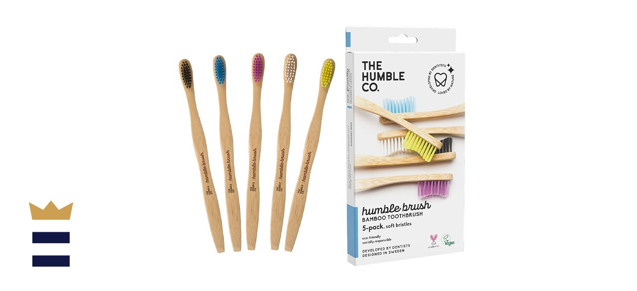 The Humble Co. Humble Brush Bamboo Toothbrush