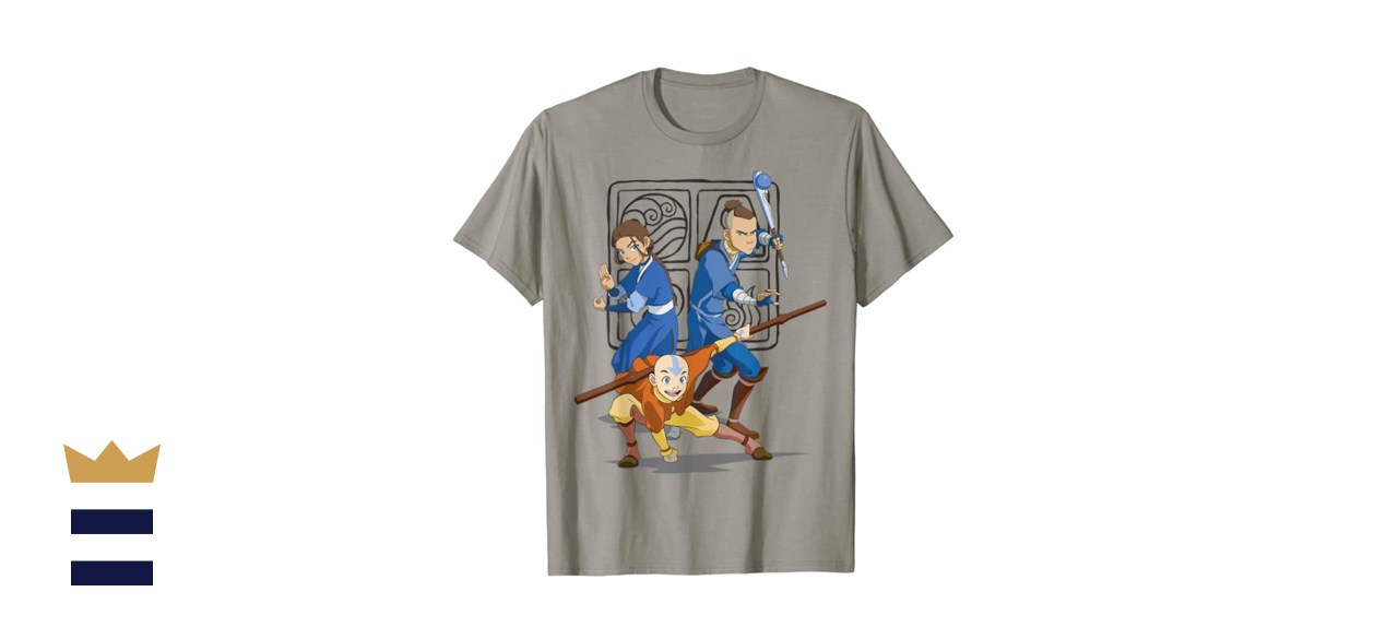 The Last Airbender Action Group Shot T-shirt