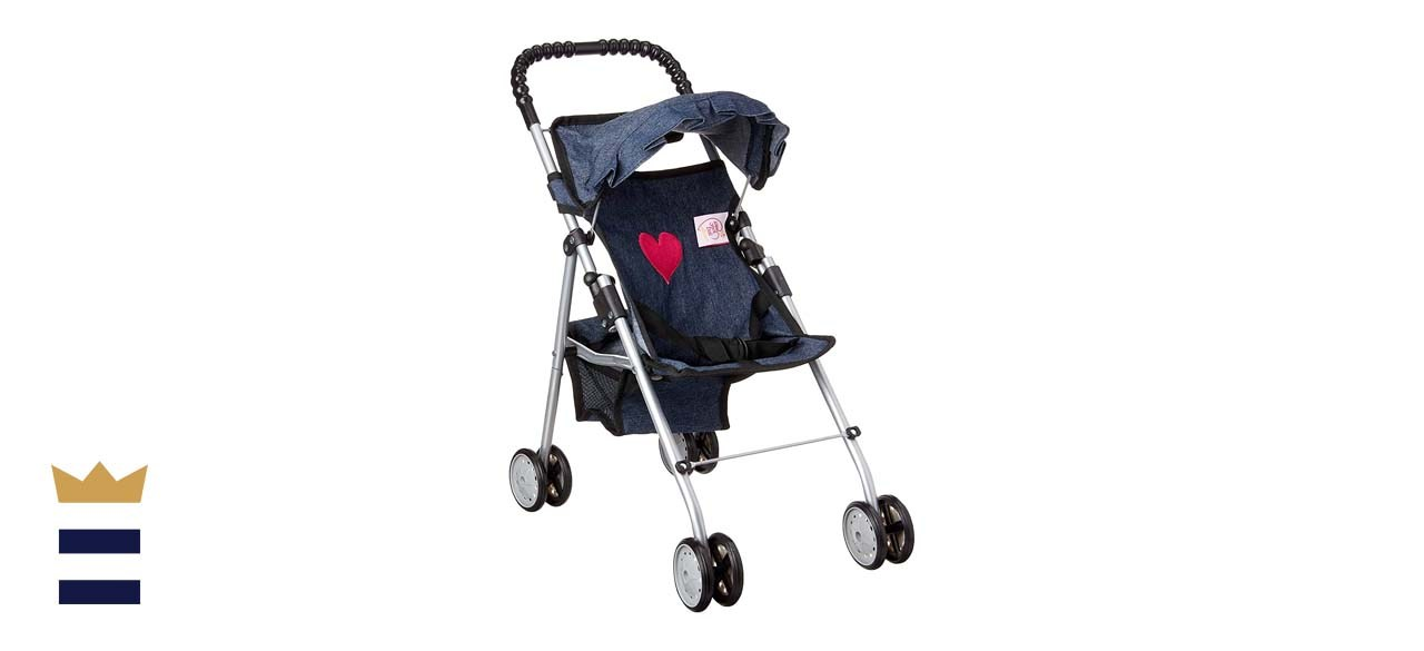 The New York Doll Collection My First Doll Stroller
