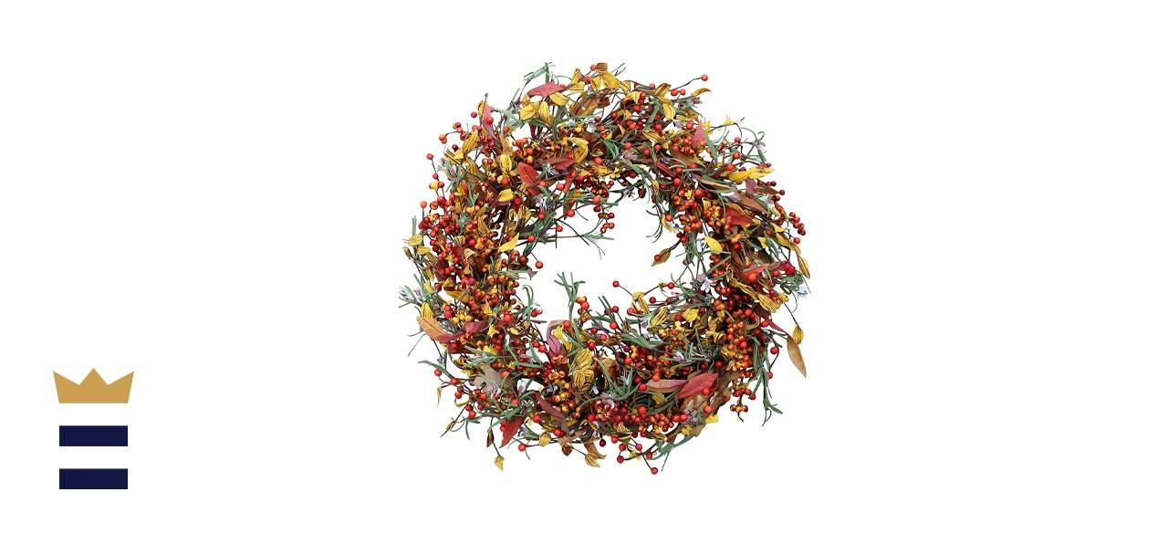 The Wreath Depot Appalachia Berry Silk Fall Door Wreath