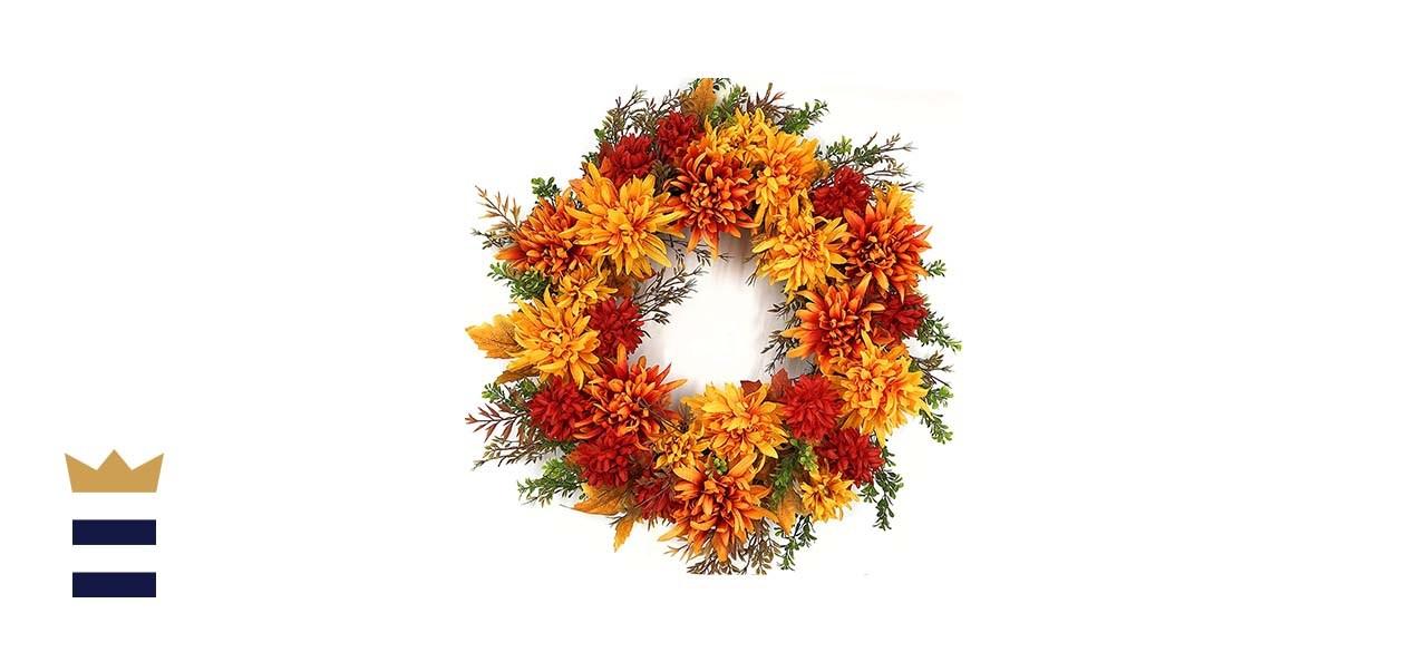 The Wreath Depot Eastbrook Silk Fall Wreath